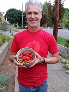 Strawberries and Wayne